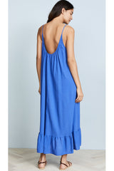 Paloma Ruffled Light Weight Cover-Up Dress by 9Seed