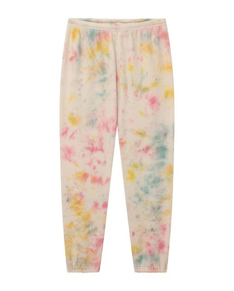 Confetti Tie-Dye Stadium Sweatpants by The Great