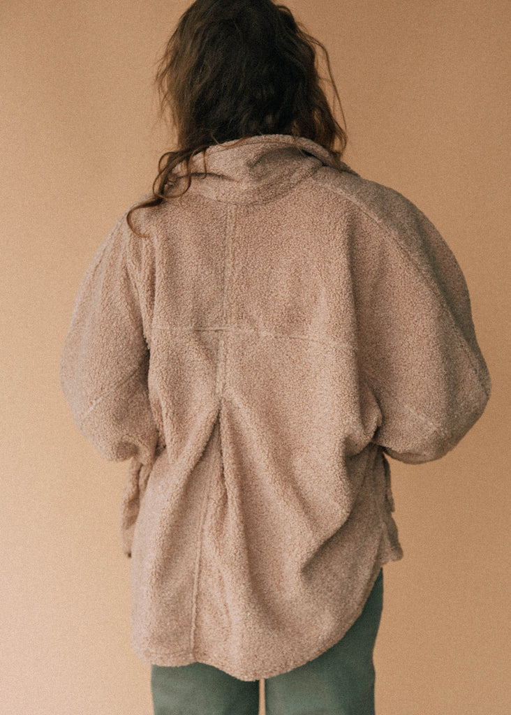 the fifth marauder jacket in taupe