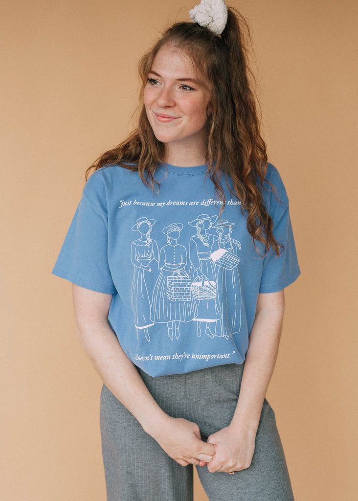 march sisters tee