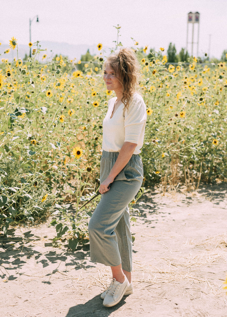 great lake pants in olive