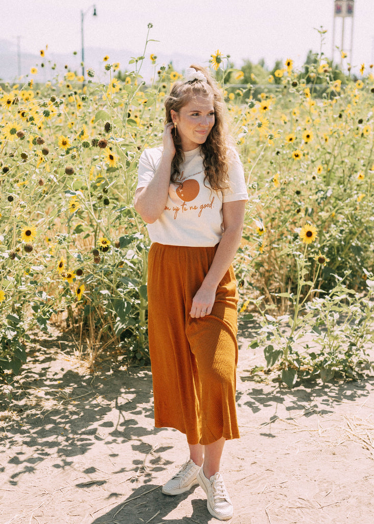 charlie lounge pants in rust
