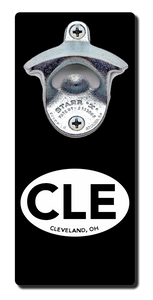 Cleveland CLE - Magnetic Bottle Opener