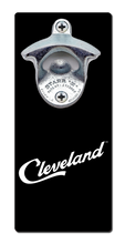 Load image into Gallery viewer, Cleveland Script - Magnetic Bottle Opener