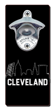 Load image into Gallery viewer, Cleveland Skyline - Magnetic Bottle Opener