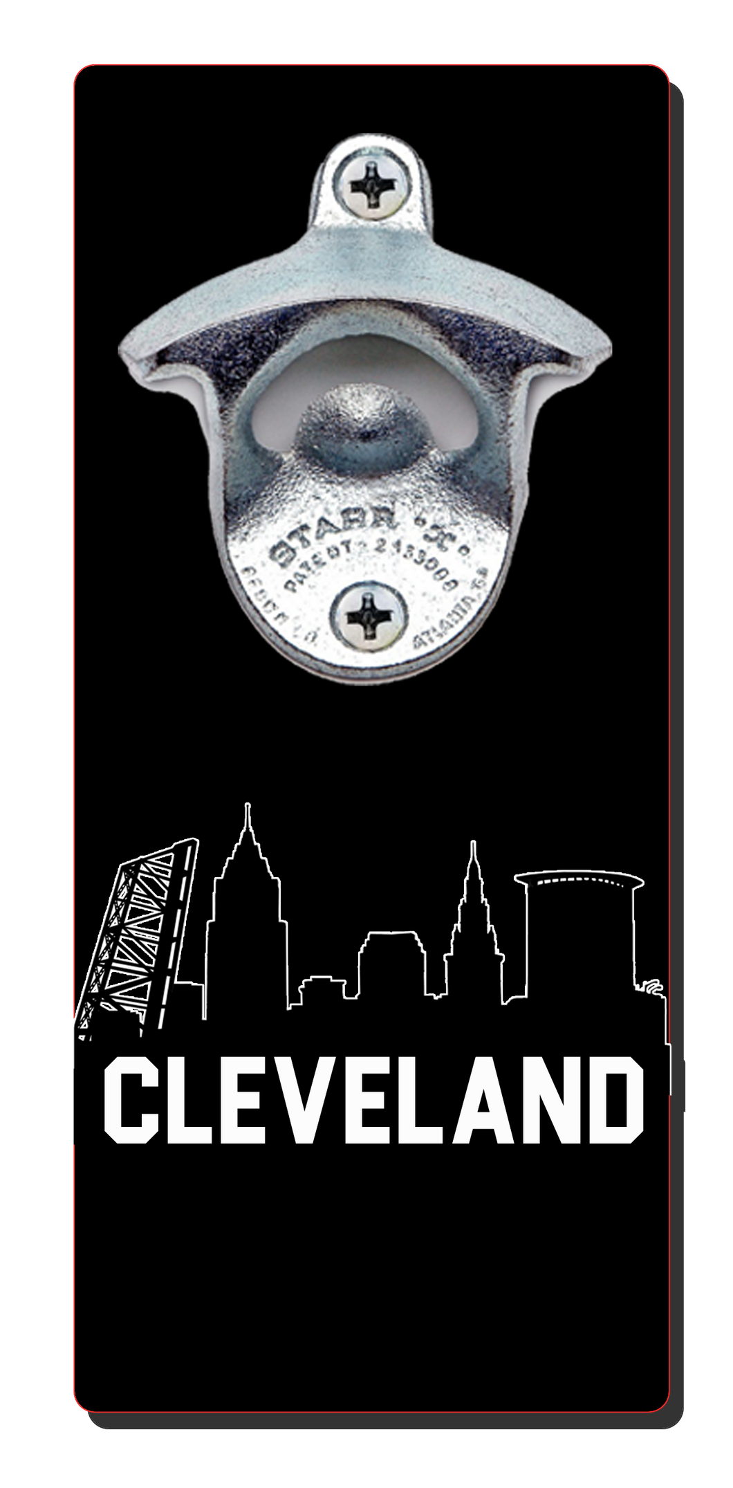 Cleveland Skyline - Magnetic Bottle Opener
