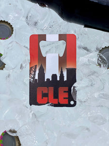CLE Football - Wallet Bottle Opener