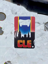 Load image into Gallery viewer, CLE Basketball - Wallet Bottle Opener