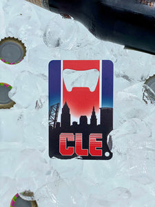 CLE Baseball - Wallet Bottle Opener