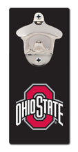 Load image into Gallery viewer, Ohio State University - Block O Black - Magnetic Bottle Opener