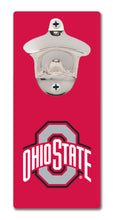 Load image into Gallery viewer, Ohio State University - Block O Scarlet - Magnetic Bottle Opener