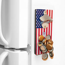 Load image into Gallery viewer, USA - Magnetic Bottle Opener