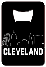 Load image into Gallery viewer, Cleveland Skyline - Wallet Bottle Opener