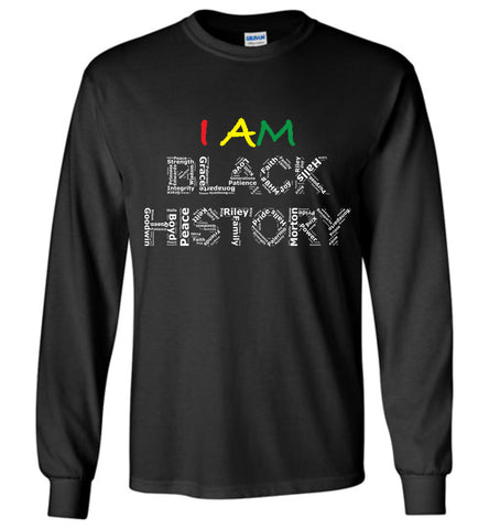 BHM Customizable L/S Tee