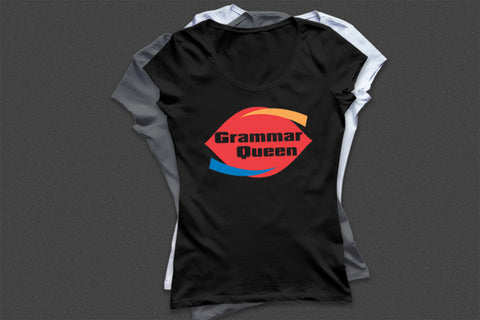 """Grammar Queen"" Tee - All2GoodApparel.com"