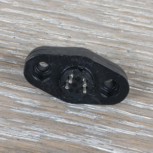 S-Video 4-Pin Panel Mount Socket