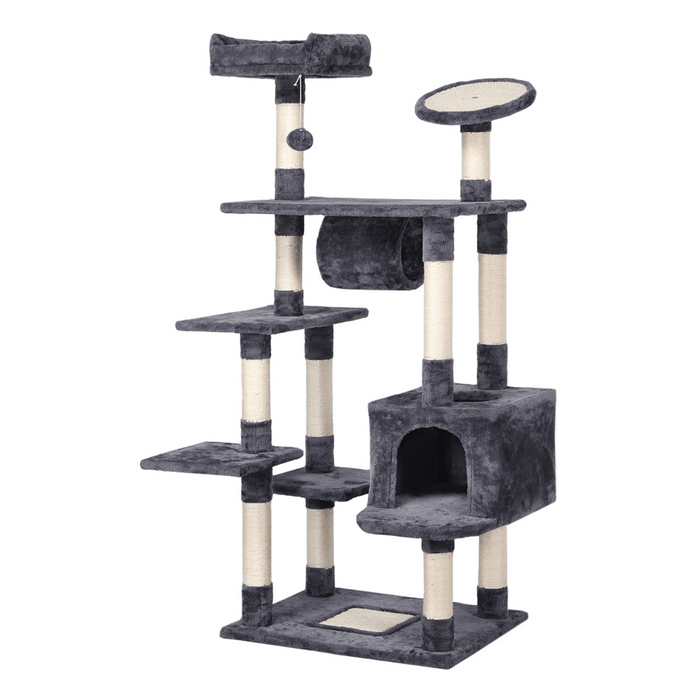 Large Cat Tree Tower Condo 62-inch