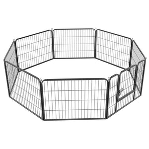 Heavy Duty 8 Panel Dog Play Pen Pet Playpen