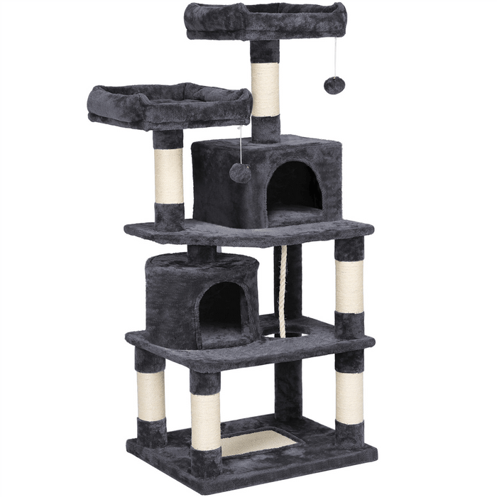 Multi Level Cat Tree For Large Cats 57-inch
