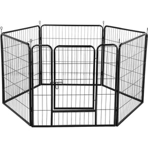 6 Panel Dog Playpen Pet Exercise Pen