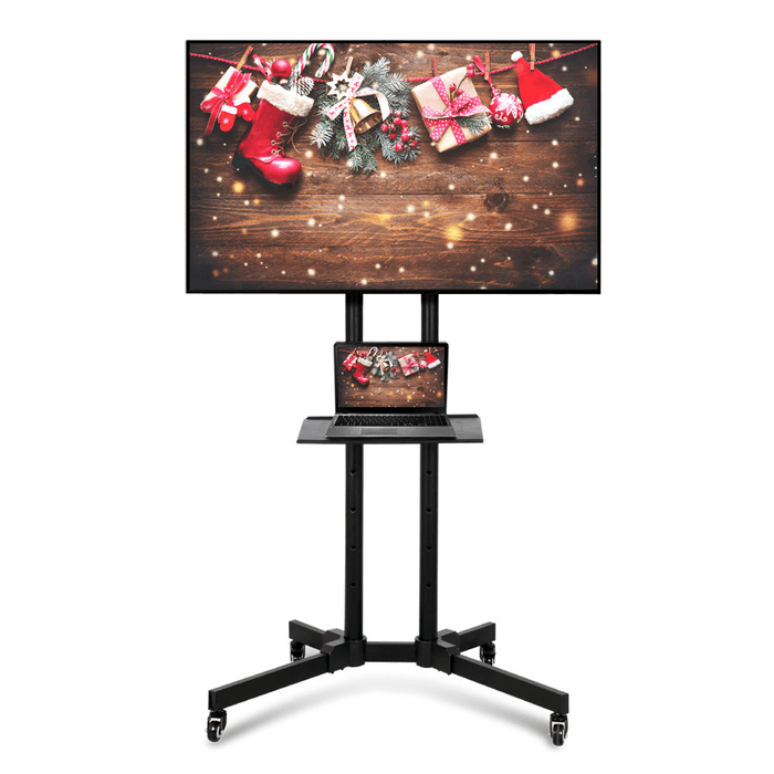 Mobile TV Stand for 32-65in Screens
