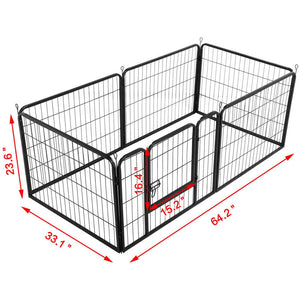 6 Panel Dog Pen Puppy Playpen