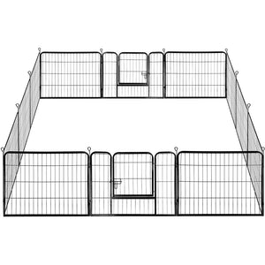 6/12 Panel Dog Pen Puppy Playpen