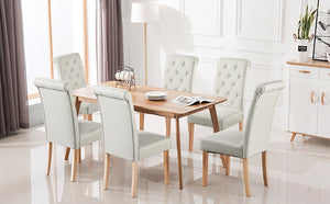 Yaheetech Dining Chair Beige