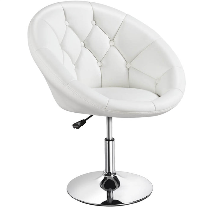 Swivel Tufted Barrel Chair