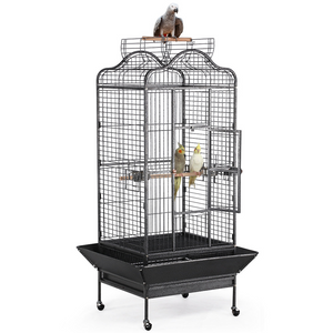 Iron Rolling Extra Large Bird Cage 63-inch