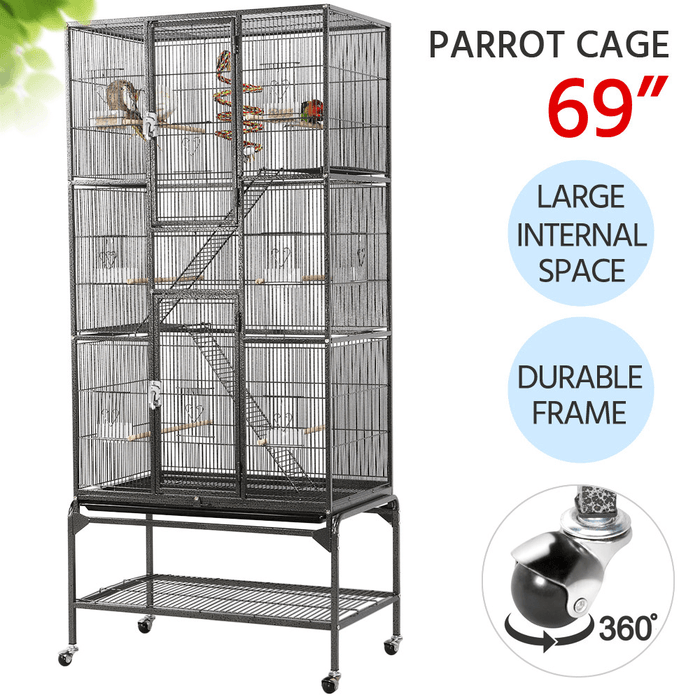 69-inch Extra Large Pet Cage for Small Animal