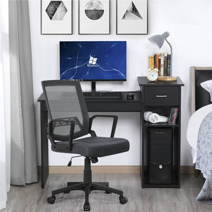 Yaheetech Mid-Back Mesh Office Chair
