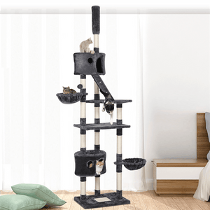100.5-inch Large Cat Tree Condo