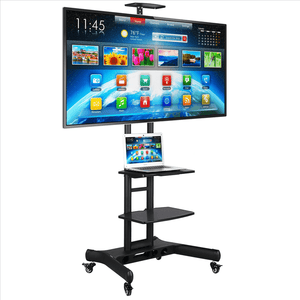TV Cart for Flat Screen with 3 Tiers Storage