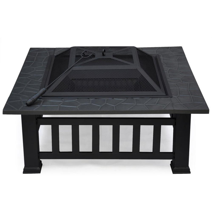 Outdoor Square Fire Pit 32''