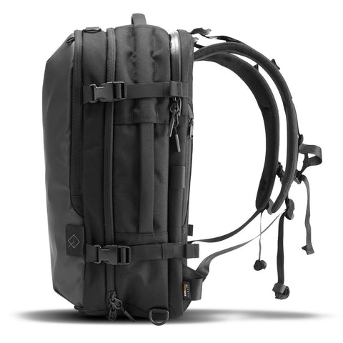TRANSIT PACK CORDURA COATED BLACK
