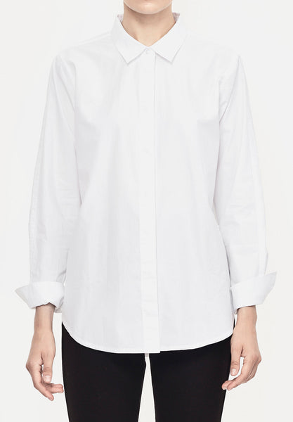 BUTTON BACK SHIRT