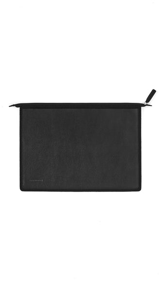 "15"" LEATHER/FELT LAPTOP SLEEVE"