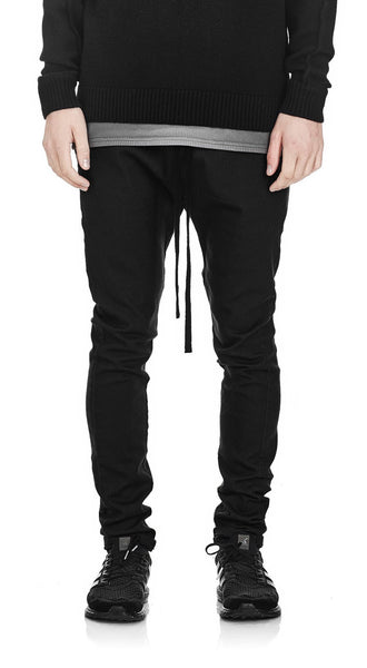 BASIC DRILL PANT BLACK