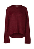 COMMONWEALTH KNIT BORDEAUX MARL
