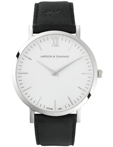 LUGANO 40MM BLACK / SILVER