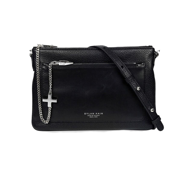 THE MARGOT SHOULDER BAG / CLUTCH SILVER