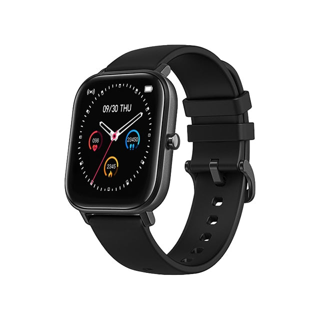 Smart Watch Full Touch Fitness Tracker, Blood Pressure, Men & Women Sports Smartwatch