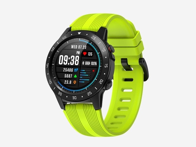 Smart Watch M5S Fitness GPS, Blood Pressure Monitor, Heart Rate Tracker, Bluetooth Calls, Smartwatch - Fitness Smart Watch