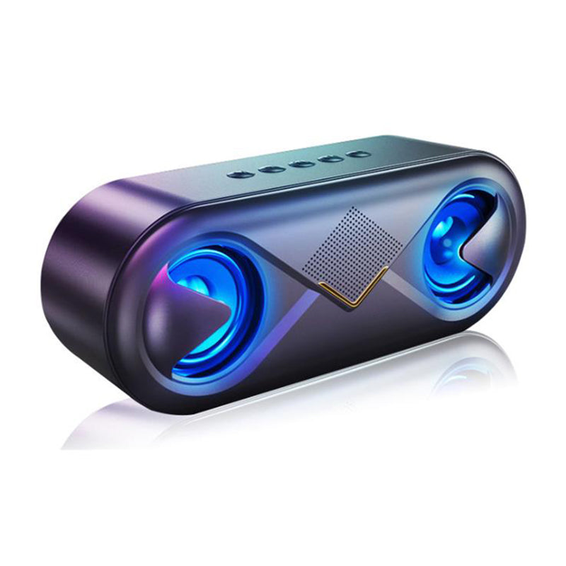Wireless Bluetooth Speaker Stereo Surround Sound Flashing Light Headset