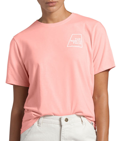 The North Face Women's SS Logo Marks Tee