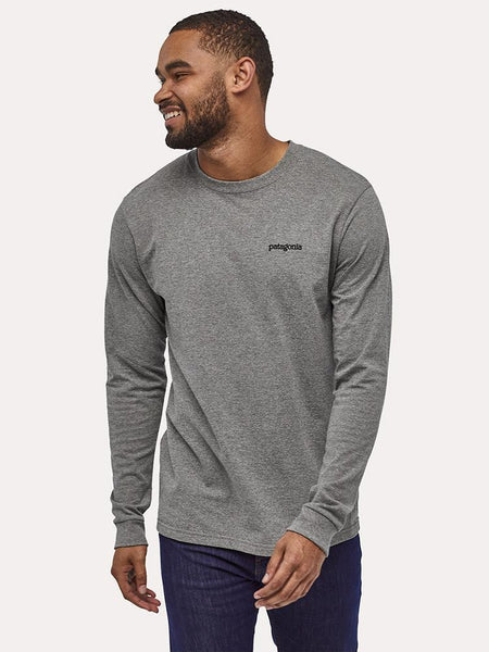 Patagonia Men's Long Sleeve Fitz Roy Horizon RESPONSIBILI-TEE