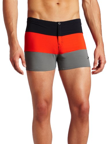 Speedo Men's Summit Square Leg Swimsuit