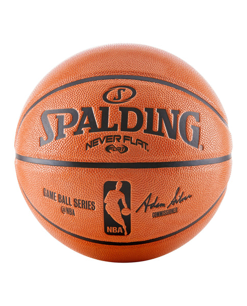 Spalding Neverflat® NBA Replica Indoor-Outdoor Game Basketball