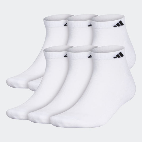 Adidas Cushioned Low Cut Socks 6 Pack